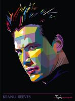 Keanu in WPAP by istikhar