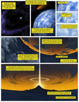 BIONICLE BEGINS Page 1 REMAKE w/ Text by The-HT-Wacom-Man
