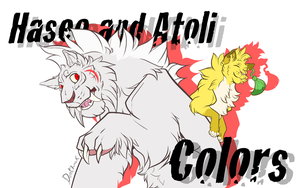 Haseo and Atoli Colors Promo by Color-City