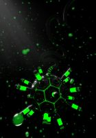 Green Bubbles infinity by NeoTendar