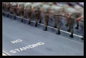 No Standing Anzac Day March 7 by AdamsWife