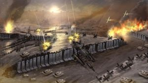 Acropolis Tank Trench Warfare by kianchai