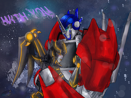 .:Points Comm:. Skyfury x Optimus by xtechnology-1