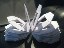 Origami Slinky by musicmixer112