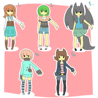 Random Adopts [batch 1] [OPEN] by Eeyrie