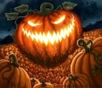 Night of the Pumpkin King for Talisman by feliciacano