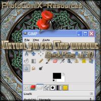 Virtual Pin  4 Gimp -deskpins by photocomix-resources