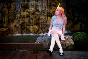 Princess Bubblegum - Pretty in Pink by squkyshoes