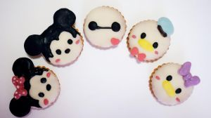 Disney (tsumtsum) cookies! (with tutorial) by minicuteclub