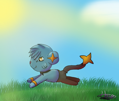 Rick the Shinx- Request by pokebulba