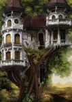 The Tree Castle by Foxleopard