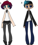 Random Adopts - 2/2 OPEN by Ash-Ad0pts