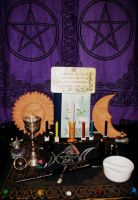 My New Altar by LadyAriessTemptra