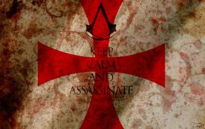 Keep Calm and Assassinate by Mgyk