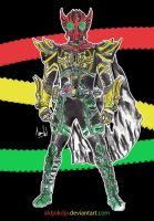 Kamen Rider OOO King TaToBa by Aldjokdja