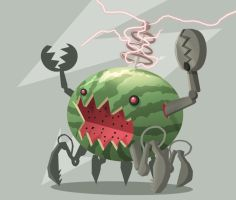 Electric Watermelon by Sodano