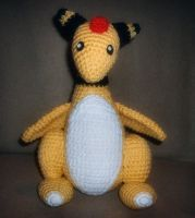 Ampharos by W0IfDreamer