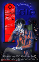 Alucard at window by giovannag