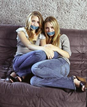 The Olsen Twins Gagged by The-email