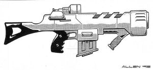 NG-P7 Particle Beam Rifle by Uncle-Servo