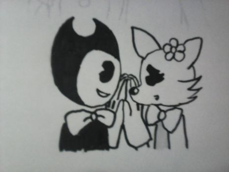 Bendy and Blackie by academian