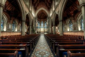 Bury Parish Church HDR by kakobrutus