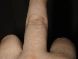 middle-finger-001 by Joseph-Sweet-Stock