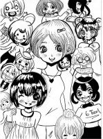 Different styles, different characters .. by en-maai