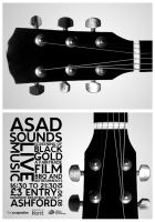 ASAD Sounds Flyer by fuelyourdesign