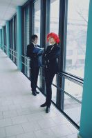William and Grell cosplay OVA by Dantelian