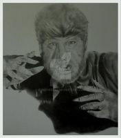 LARRY TALBOT AS THE WOLFMAN (1941) by BUMCHEEKS2