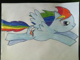 Rainbow Dash by Mariano954