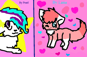 Collab Speedpaint with Lana by PearlTheKitty2012