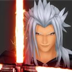 Xemnas with a Light Saber by montey4