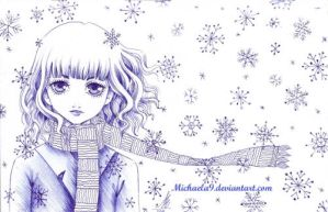Snowing by Michaela9