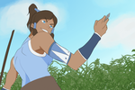 Korra Animation by Warriorsatthedisco