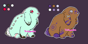 CUSTOM Bunny Adoptables! 20 Points by TechSupportGirls