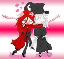 Grell Huggles by EmiMagick