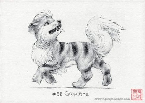 Growlithe by laserboy600