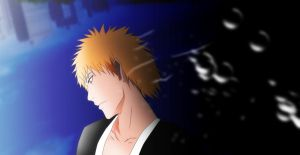Bleach Ichigo Kurosaki inner world by Mr123GOKU123