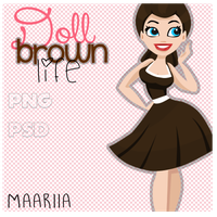 Doll Brown Life {Maariia} by MaariiaEditions10