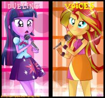 -Dueling Voices- by AlbitaDashie