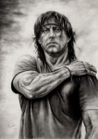 Sylvester Stallone by ercansebat