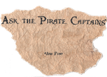 Ask the Pirate Captains Banner by CaptainJollyRoger13