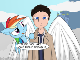 MLP SPN A Little Lost by LoCeri
