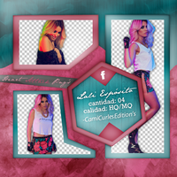 +PHOTOPACK PNG: Lali Esposito by CAMI-CURLES-EDITIONS