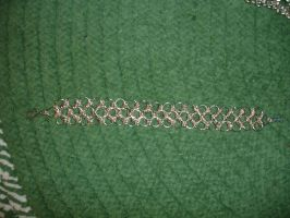 Chainmail Bracelet Design by somechick73