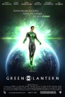 Green Lantern Poster Concept by InterestingJohn