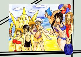 SE beachparty by edogori