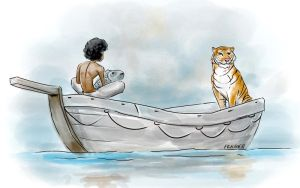 Life of Pi Illustration by CARFillustration